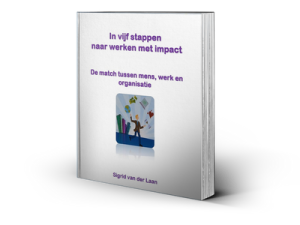 E-boek In vijf stappen naar werken met impact. De match tussen mens, werk en organisatie