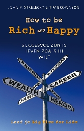 Plaatje boek How to be Rich and Happy